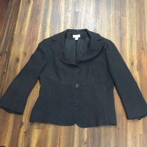 Ann Taylor Loft black blazer